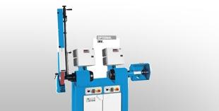 Base-mounted polishing machines