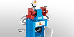 Bench-mounted polishing machines