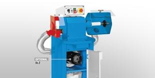 Base-mounted grinding machines