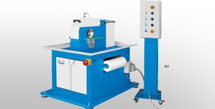 Belt grinding machines for bent and straight tubes