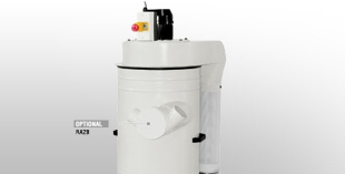 Water dust extractors